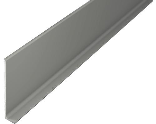 Sockelleiste 3722008270 Aluminium titan ungelocht 11x60x2700 mm