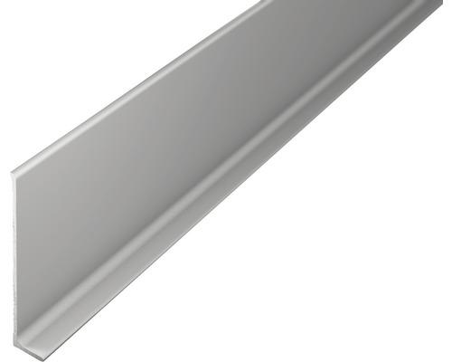Sockelleiste Aluminium silber ungelocht 11x60x2700 mm