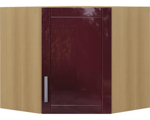 Eck-Hängeschrank Held Möbel Varel 60x57x60 cm rot
