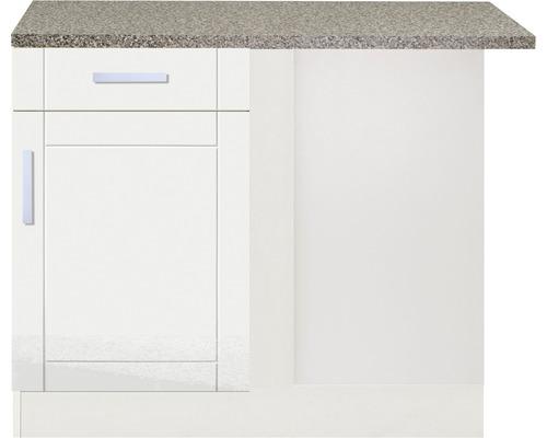 Eck-Unterschrank Held Möbel Varel 110x85x60 cm weiß