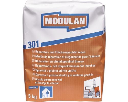 Reparaturspachtel / Flächenspachtel MODULAN 301 innen medium 5 kg weiß