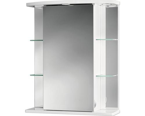 LED-Spiegelschrank Jokey Havana 55x66x23 cm 1-türig weiß