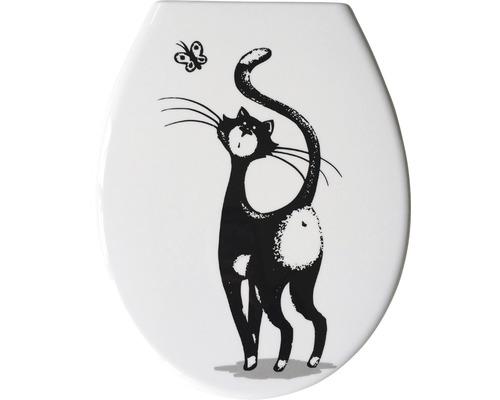 WC-Sitz ADOB Cortina Katze mit Absenkautomatik
