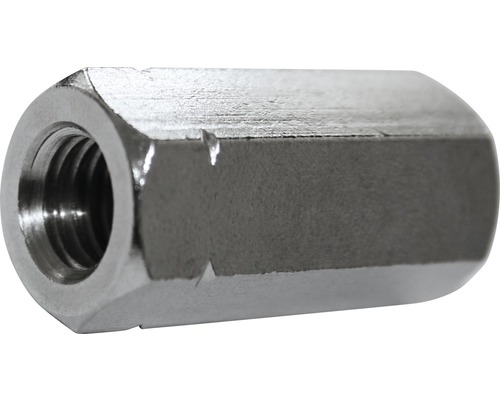 Verbindungsmuttern 6-Kant 6x30 mm, 100 Stück