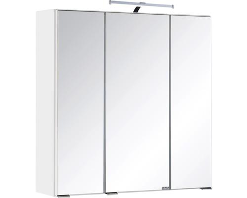 Spiegelschrank Held Möbel 003.1.0001 60x66 cm 3-türig weiß