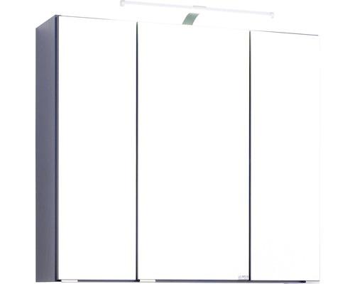 Spiegelschrank Held Möbel 007.1.0042 70x66 cm 3-türig dunkelgrau