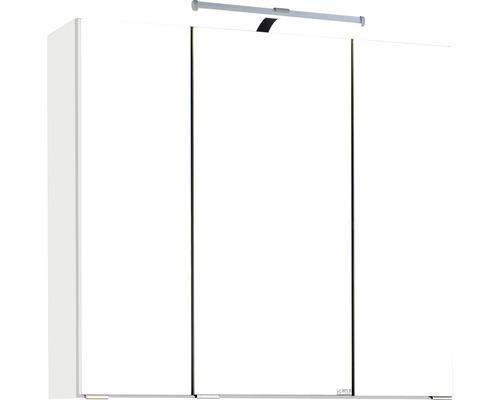 Spiegelschrank Held Möbel 007.1.0001 70x66 cm 3-türig weiß