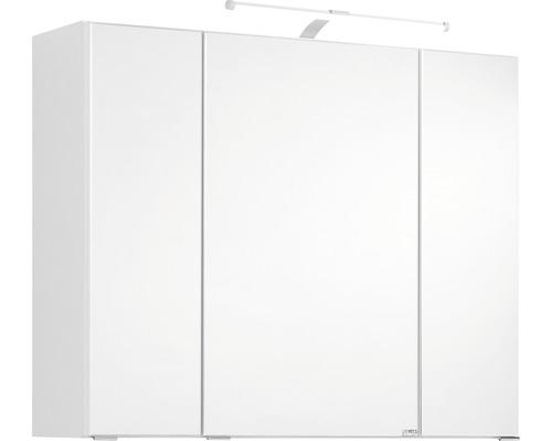 Spiegelschrank Held Möbel 004.1.0001 80x66 cm 3-türig weiß