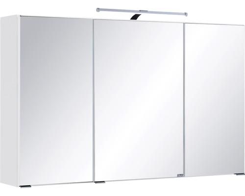 Spiegelschrank Held Möbel 005.1.0001 100x66 cm 3-türig weiß