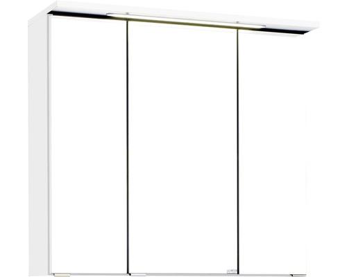 Spiegelschrank Held Möbel 010.1.0001 70x66 cm 3-türig weiß