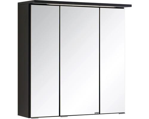 Spiegelschrank Held Möbel 009.1.0042 60x66 cm 3-türig dunkelgrau