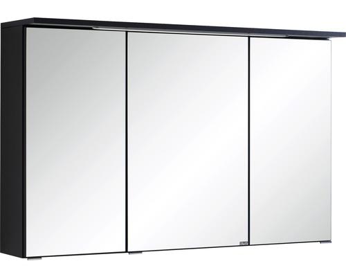 Spiegelschrank Held Möbel 013.1.0042 100x66 cm 3-türig dunkelgrau