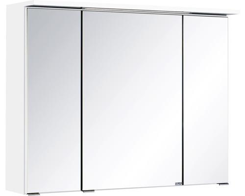 Spiegelschrank Held Möbel 011.1.0001 80x66x20 cm 3-türig weiß