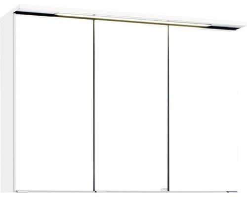 Spiegelschrank Held Möbel 012.1.0001 90x66 cm 3-türig weiß