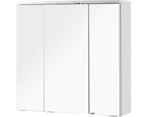 Spiegelschrank Held Möbel 174.3003 70x69 cm 3-türig weiß
