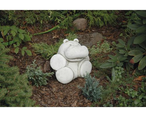 Gartenfigur Nilpferd Nils