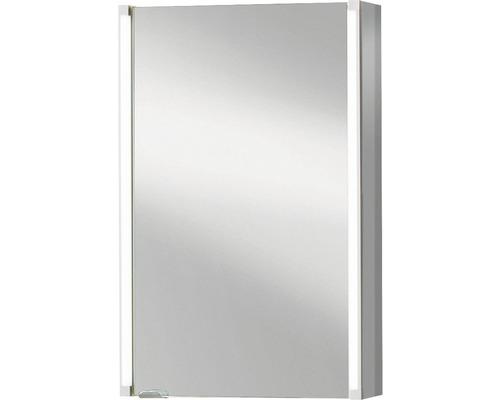 Spiegelschrank basano Silver-Line 42,5x67x16,5 cm 1-türig grau