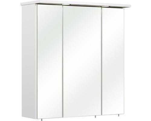 Spiegelschrank Pelipal Bacoli I 65x72x20 cm 3-türig weiß glanz