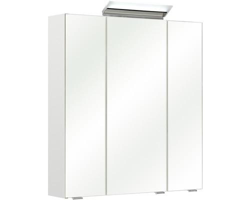 Spiegelschrank Pelipal Oria I 65x70x16 cm 3-türig weiß