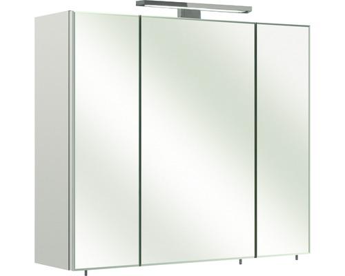 Spiegelschrank Pelipal Grado IV 70x60x20 cm 3-türig weiß