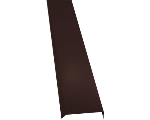 PRECIT Kappleiste chocolate brown RAL 8017 1000 x 10 x 50 mm