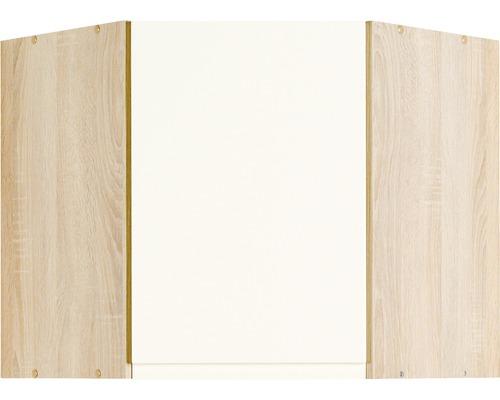 Eck-Hängeschrank Held Möbel Cardiff 60x57x60 cm creme