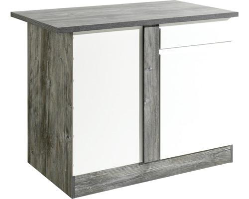 Eck-Unterschrank Held Möbel Cardiff 110x85x60 cm weiß