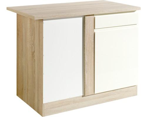 Eck-Unterschrank Held Möbel Cardiff 110x85x60 cm creme