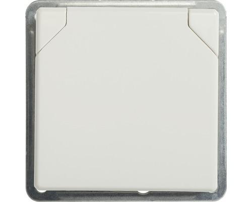 Steckdosen-Einsatz mit Klappdeckel Roth-Lange Plus ultraweiß