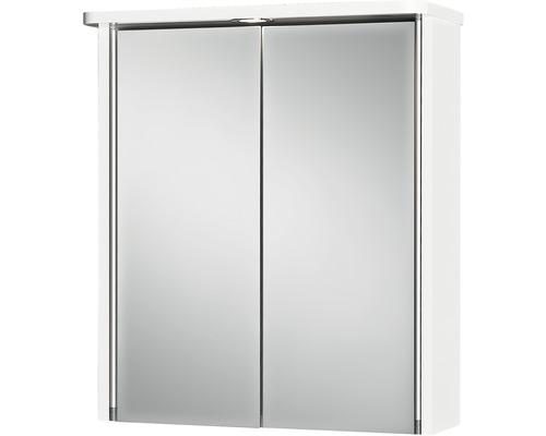 LED-Spiegelschrank Jokey Tamrus 55x63x22 cm 2-türig weiß