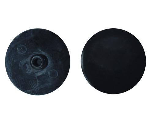 Abdeckkappe SW 4 x 18 mm, Schwarz, Kunststoff, 100 Stück