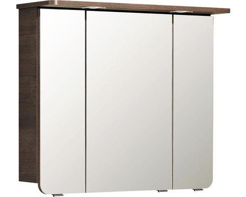 Spiegelschrank Pelipal Sunline 105 82x72,3x28,5 cm 3-türig weiß