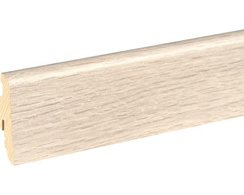 Sockelleiste FU60L Eiche grau 466 19x58x2400 mm