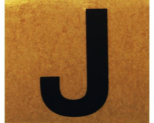 """Klebeziffer """"Buchstabe J"""" Papier 50 x 50 mm"""