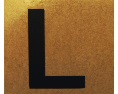 """Klebeziffer """"Buchstabe L"""" Papier 50 x 50 mm"""