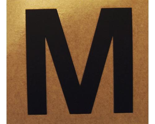 """Klebeziffer """"Buchstabe M"""" Papier 50 x 50 mm"""