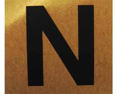 """Klebeziffer """"Buchstabe N"""" Papier 50 x 50 mm"""