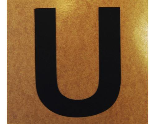 """Klebeziffer """"Buchstabe U"""" Papier 50 x 50 mm"""