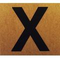 """Klebeziffer """"Buchstabe X"""" Papier 50 x 50 mm"""