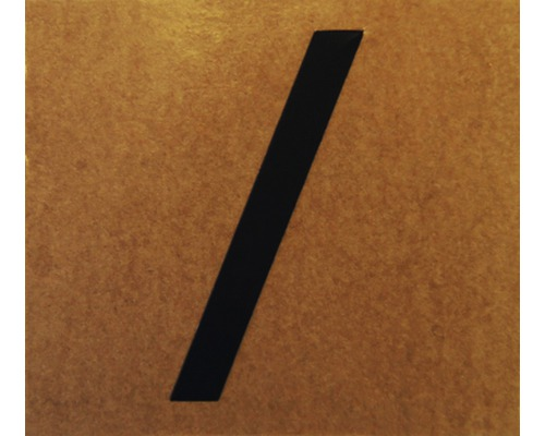"""Klebeziffer Buchstabe """"/"""" Papier 50 x 50 mm"""