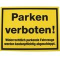 """Verbotsschild """"Parken verboten"""" Kunststoff 300 x 400 mm"""