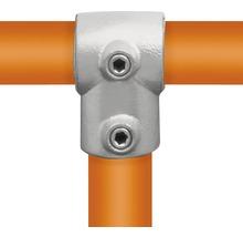 T-Stück kurz Rohrverbinder für Gerüstholz-Stahlrohr Ø 33 mm