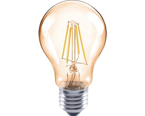FLAIR LED Lampe A60 Filament amber E27/4W(35W) 400 lm 2000 K warmweiß