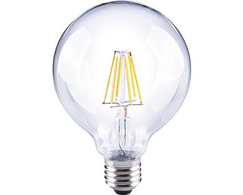 FLAIR LED Globelampe G95 Filament klar E27/6W(60W) 810 lm 2700 K warmweiß