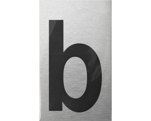 """Klebeziffer Türschild """"Bauchstabe b"""" Kunststoff 100 x 60 mm"""