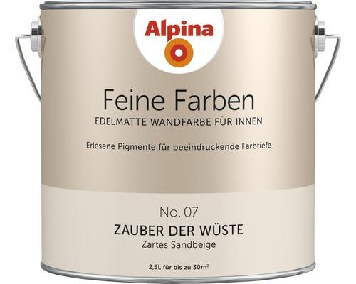 Alpina Feine Farben konservierungsmittelfrei Zauber der Wüste 2,5 L