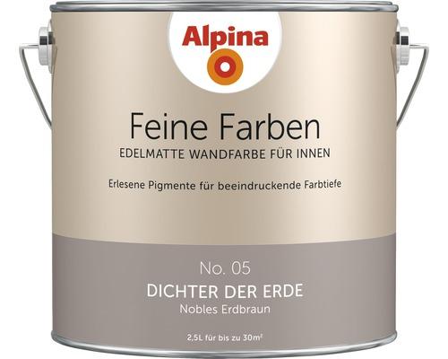 Alpina Feine Farben konservierungsmittelfrei Dichter der Erde 2,5 L