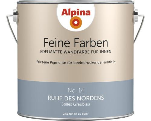 Alpina Feine Farben konservierungsmittelfrei Ruhe des Nordens 2,5 L