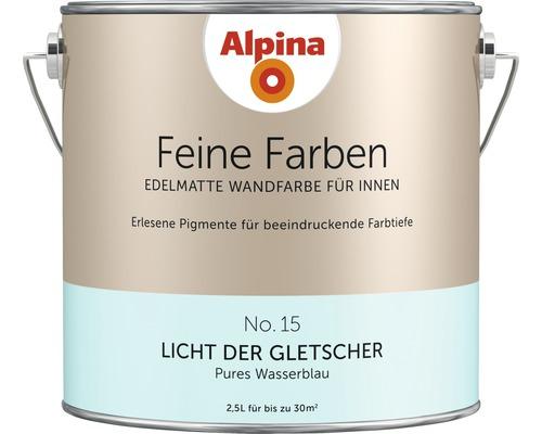 Alpina Wandfarbe Feine Farbe Licht der Gletscher 2,5 l