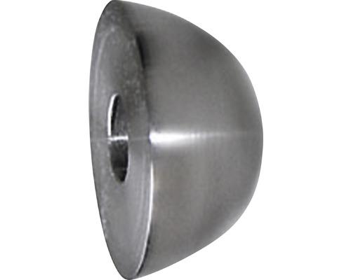 Endkappen ohne Dübel Edelstahl geschliffen Ø 50 mm (2 Stk.)